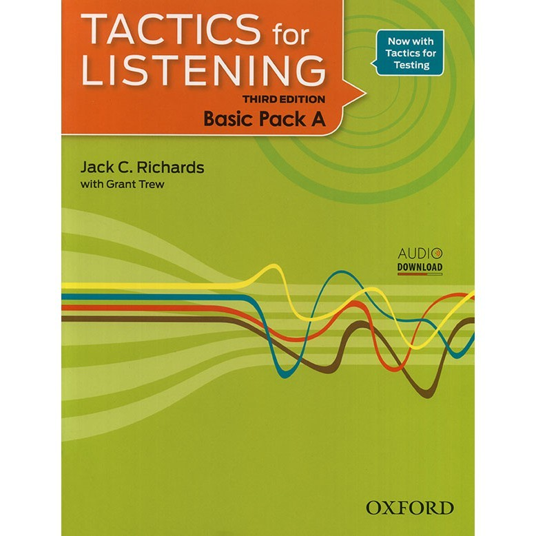 sach luyen nghe tieng anh Tactics for listening BASIC