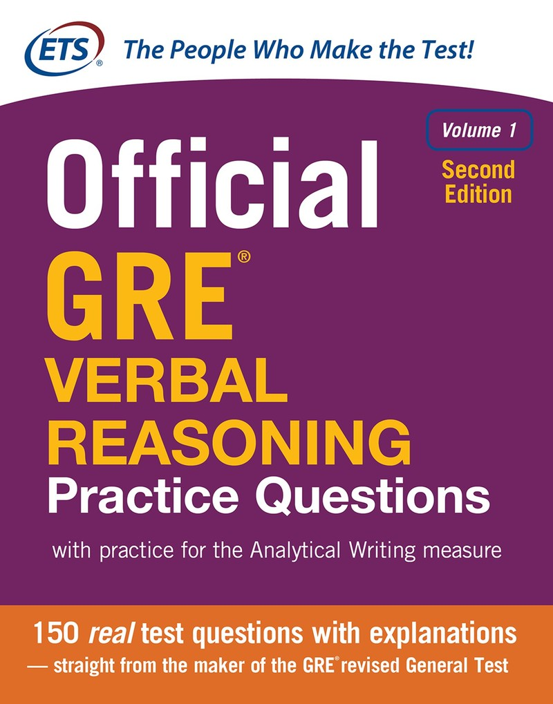 sach luyen viet tieng anh Official GRE Verbal Reasoning Practice Questions