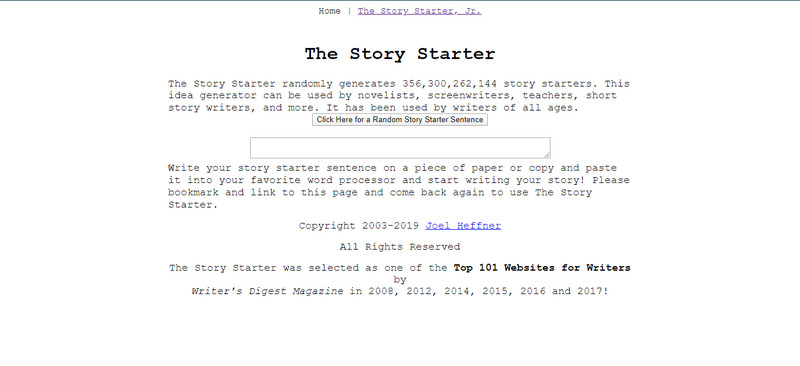 website hoc tieng anh mien phi the story starter