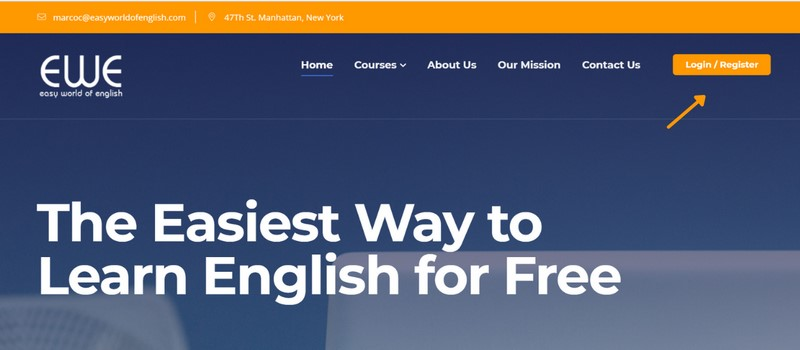 Học Tiếng Anh online cùng website Easy World of English