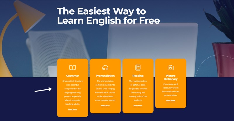 Học Tiếng Anh online với website Easy World of English